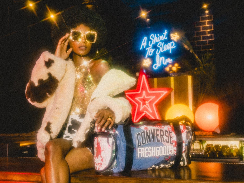Converse x Joe Freshgoods Joe Freshgoods porta la sua storia nel mondo con una Chuck 70 ispirata alla grafica, Pro soulful Ritorno al passato in pelle e abbigliamento