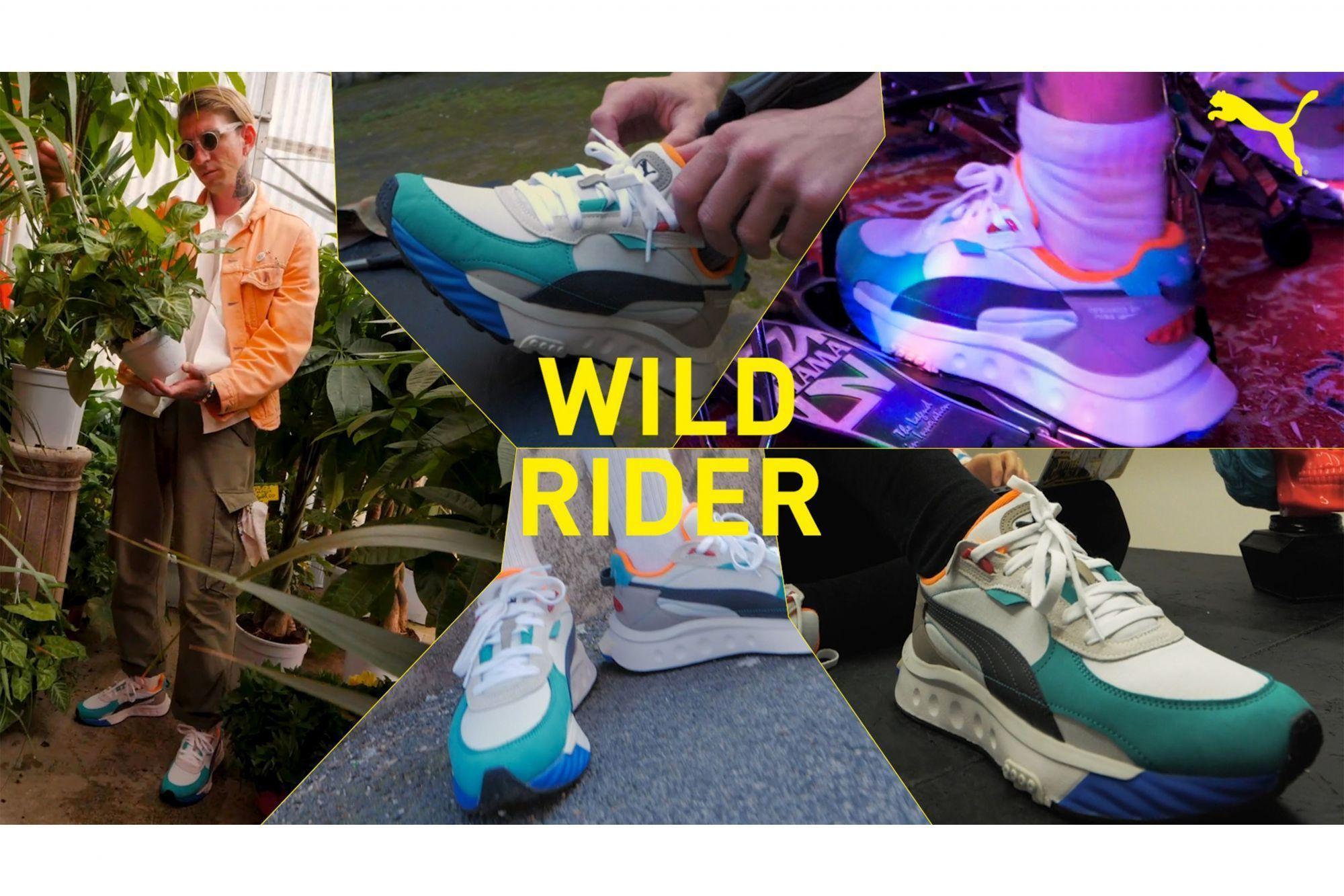 Puma Wild Rider Layers